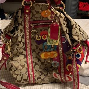 Coach bag poppy